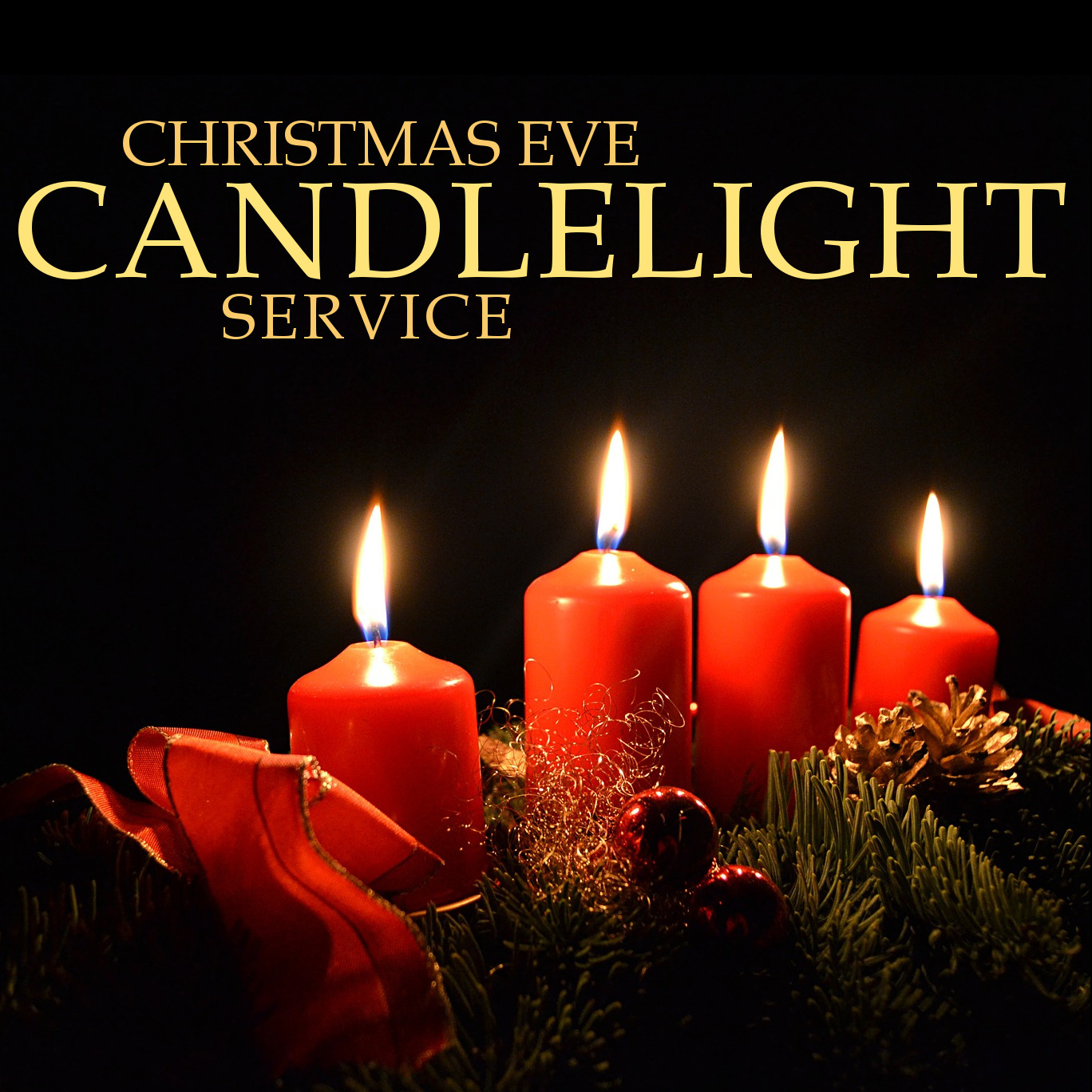 Image result for candlelight christmas eve service pictures